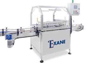 Machine EXANE - laveuse à air pour bouteilles, flacons et cansiters