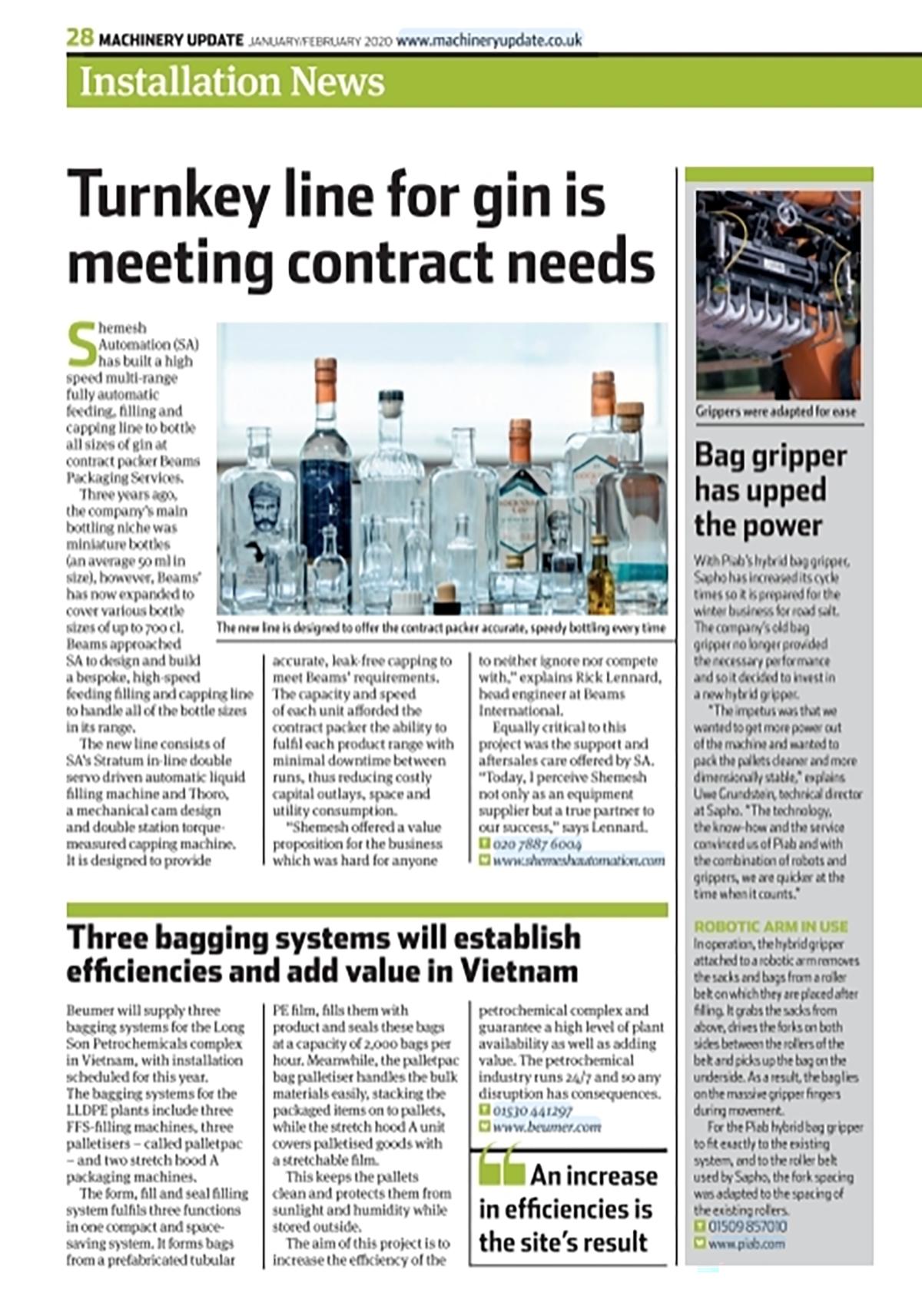 Machinery Updates Magazine Jan-Feb2020